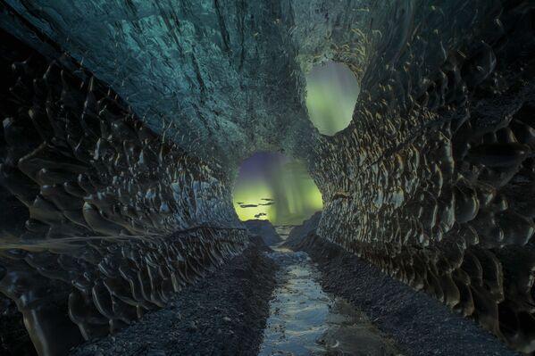 Snímek jeskyně od německého fotografa Markuse van Hautena - Sputnik Česká republika