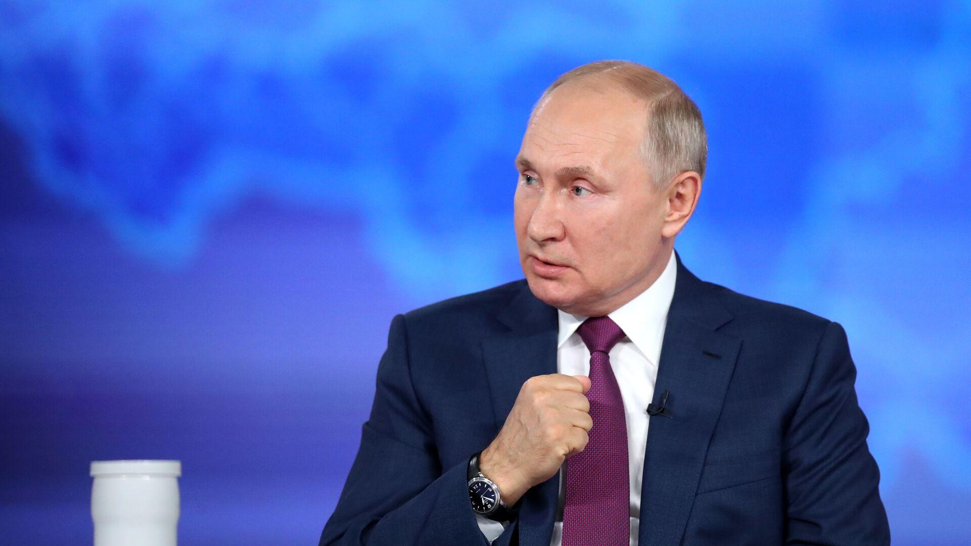 Vladimir Putin - Sputnik Česká republika, 1920, 14.09.2021