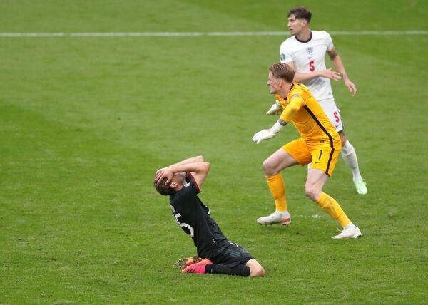 Hráči Německa a Anglie - Sputnik Česká republika