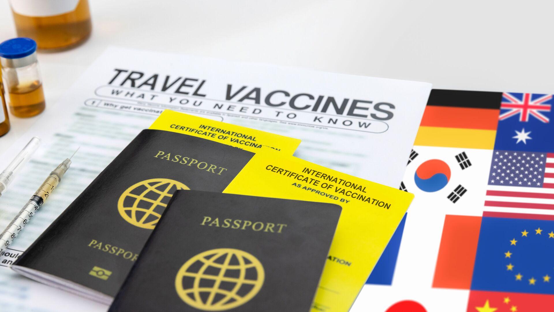 Očkovací pasy pro mezinárodní cestování - Sputnik Česká republika, 1920, 01.07.2021