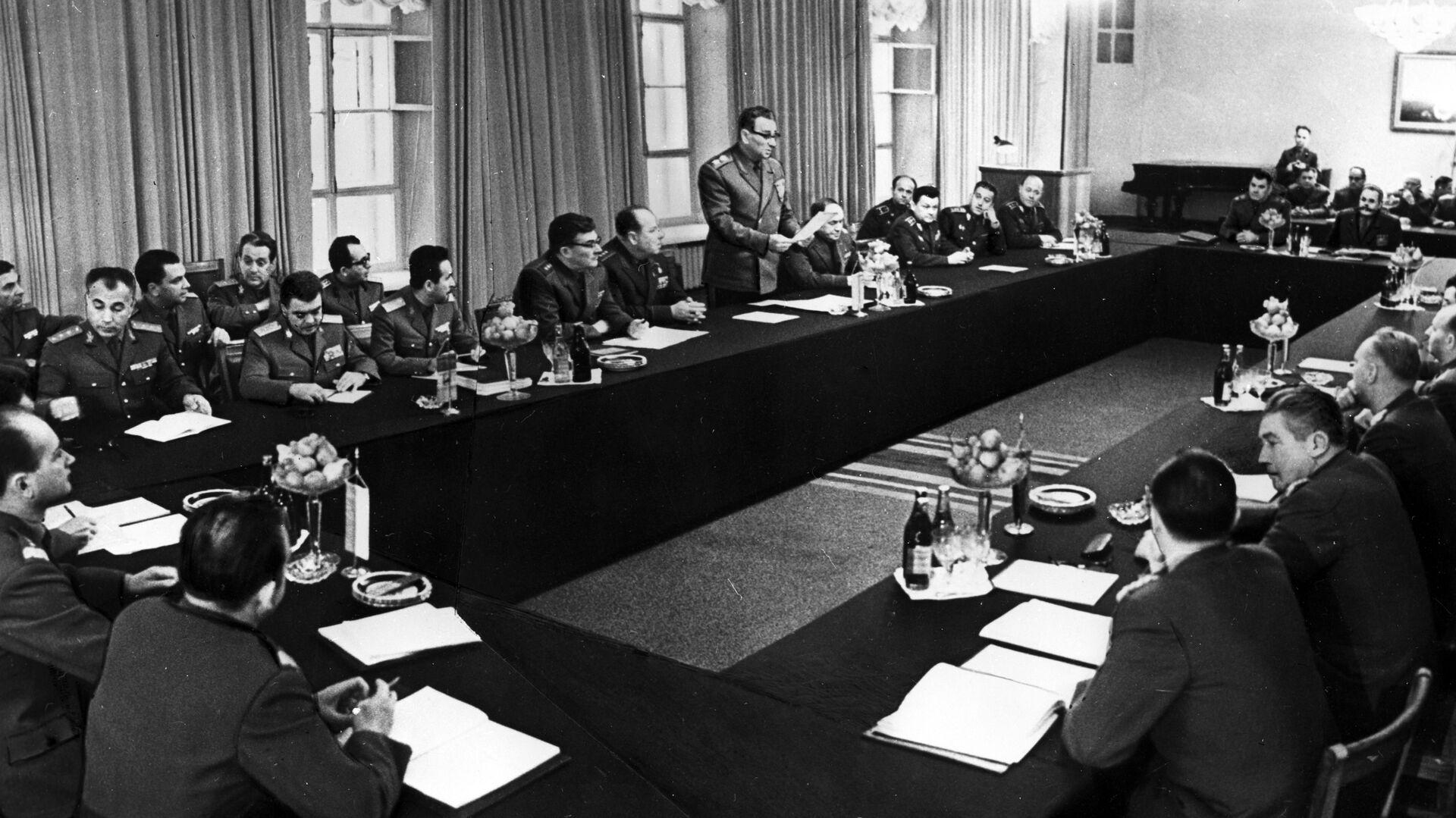 Setkání ministrů obrany členských států Varšavské smlouvy, rok 1968 - Sputnik Česká republika, 1920, 01.07.2021