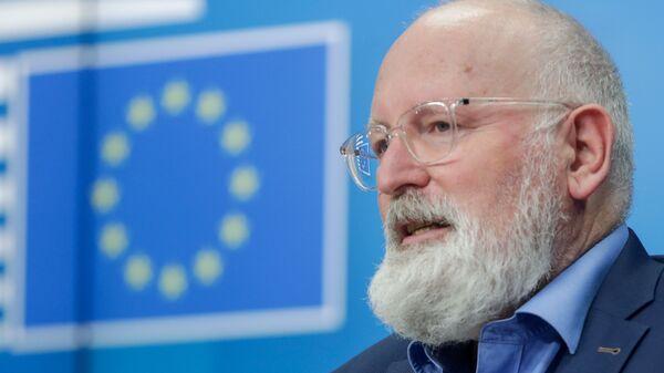 Заместитель председателя Европейской комиссии Франс Тиммерманс - Sputnik Česká republika
