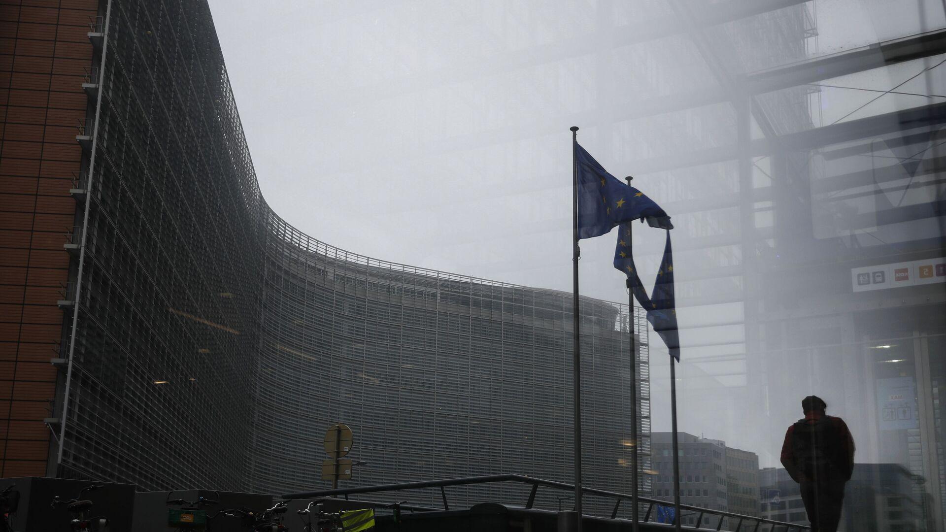 Budova Evropské komise v Bruselu - Sputnik Česká republika, 1920, 19.07.2021