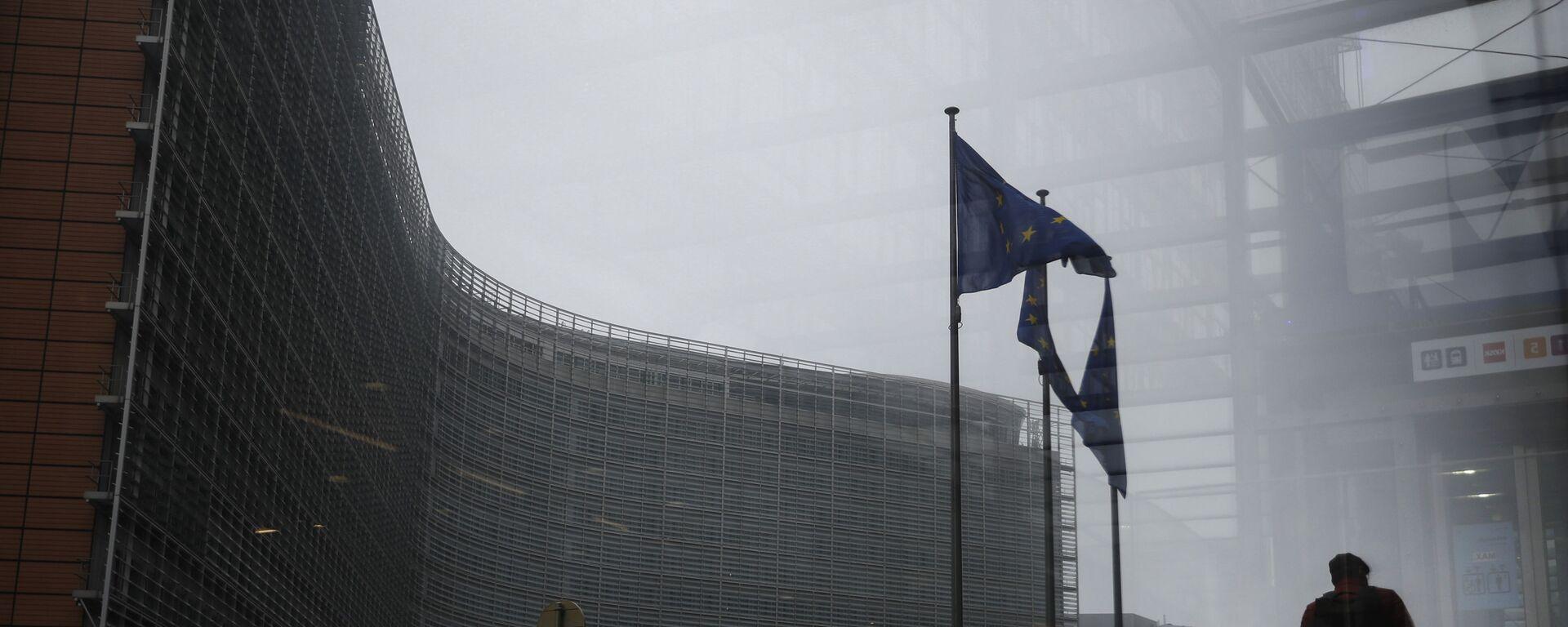 Budova Evropské komise v Bruselu - Sputnik Česká republika, 1920, 04.07.2021