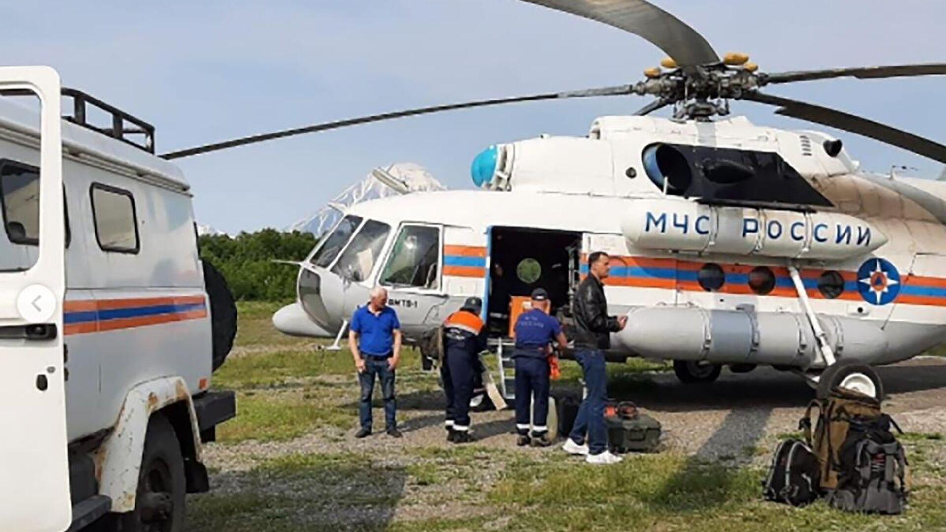 Pátrací operace na místě zříceného An-26 na Kamčatce - Sputnik Česká republika, 1920, 07.07.2021