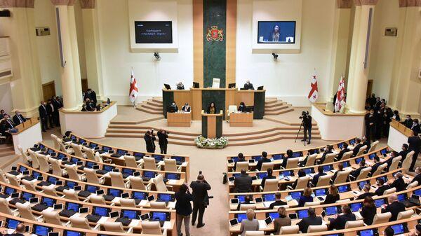 Gruzínský parlament - Sputnik Česká republika