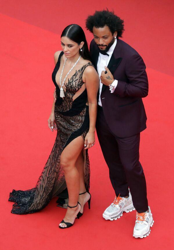 Marcelo Viera a Clarisse Alvesová na promítání filmu The French Dispatch. - Sputnik Česká republika