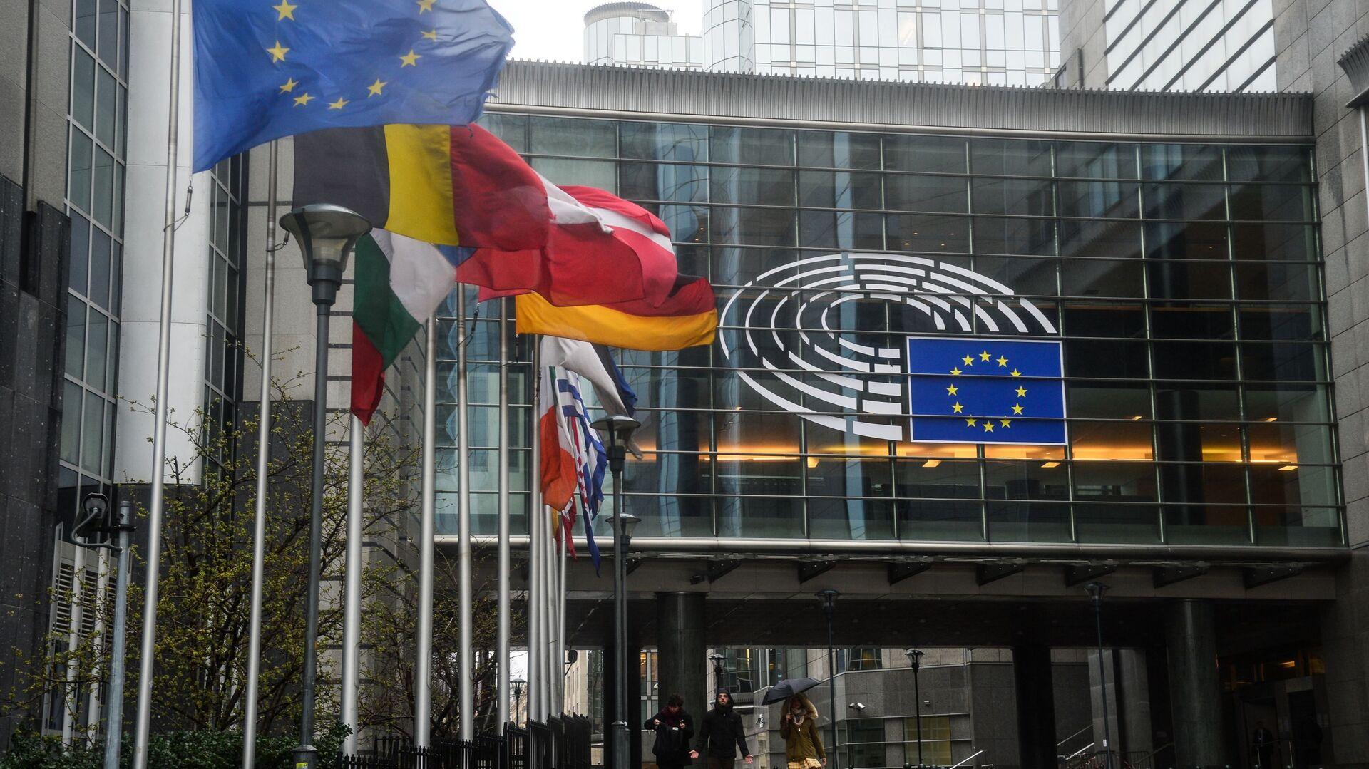 Budova Evropského parlamentu v Bruselu - Sputnik Česká republika, 1920, 14.07.2021