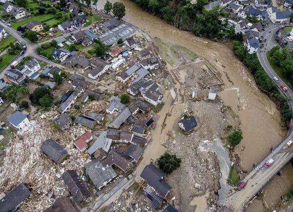 Následky povodní v Německu. - Sputnik Česká republika
