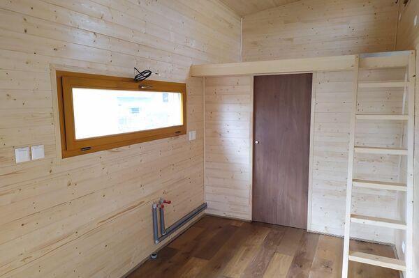 Interiér mobilního domku od spol. Lidé z maringotek - Sputnik Česká republika