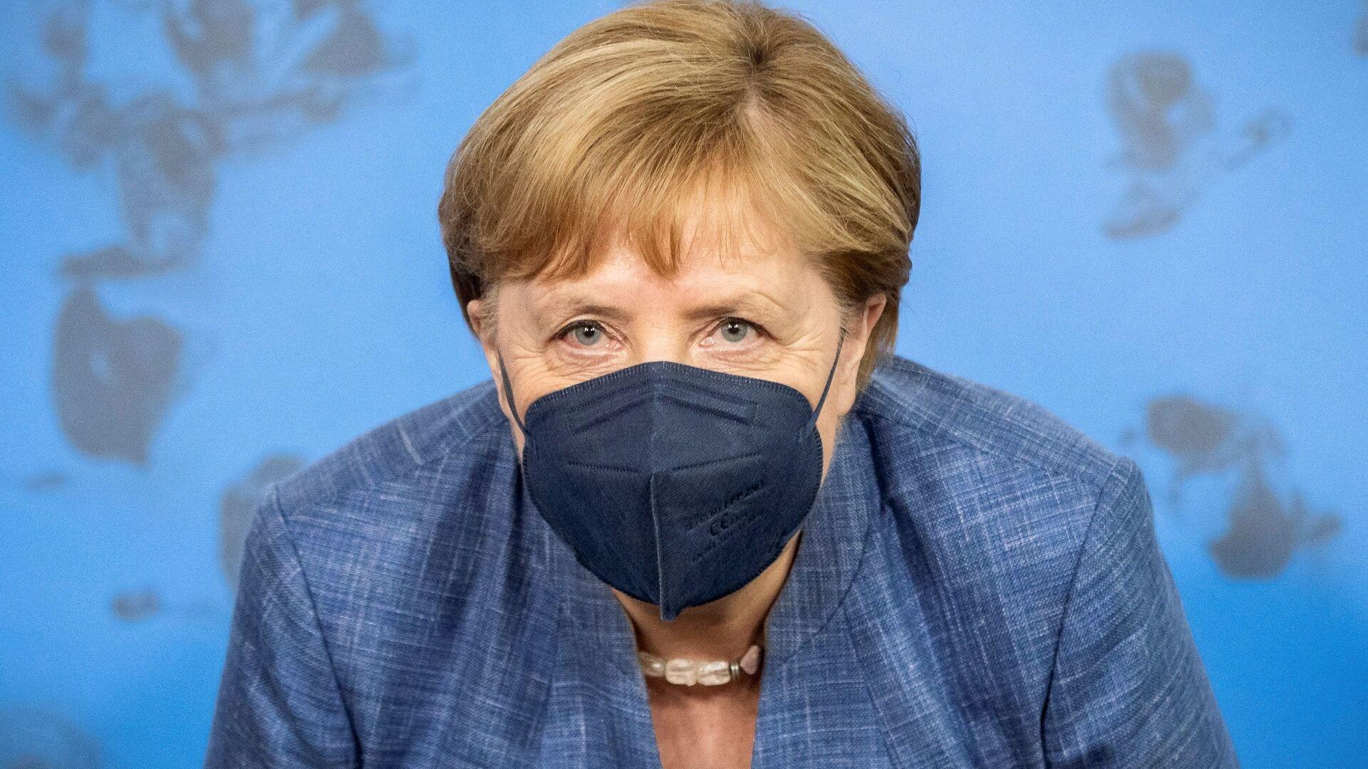 Kancléřka SRN Angela Merkelová - Sputnik Česká republika, 1920, 22.07.2021