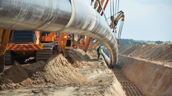 Pokládka plynovodu Nord Stream 2 - Sputnik Česká republika