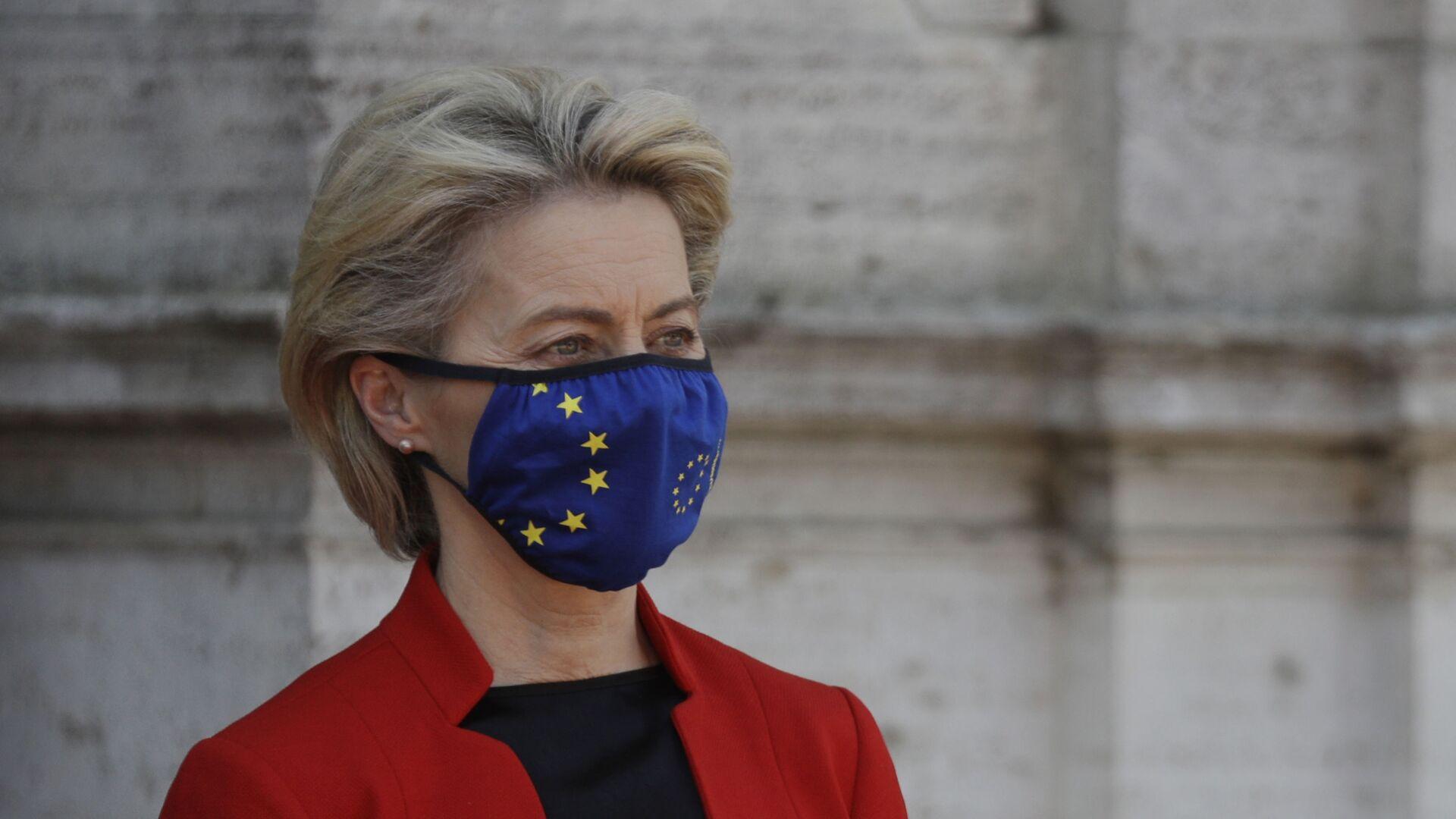 Předsedkyně Evropské komise Ursula von der Leyenová. - Sputnik Česká republika, 1920, 17.07.2021