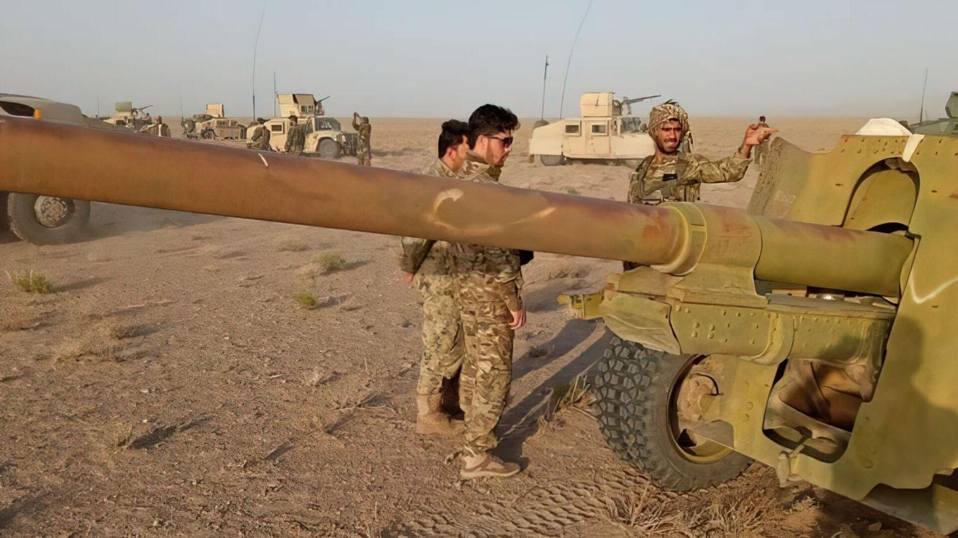 Boj obranných sil Afghánistánu proti Tálibánu (zakázaného v Rusku) - Sputnik Česká republika, 1920, 29.07.2021