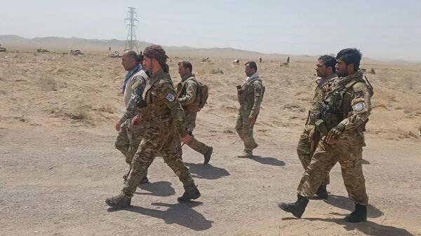 Afghánští vojáci bojují proti Tálibánu v Herátu - Sputnik Česká republika