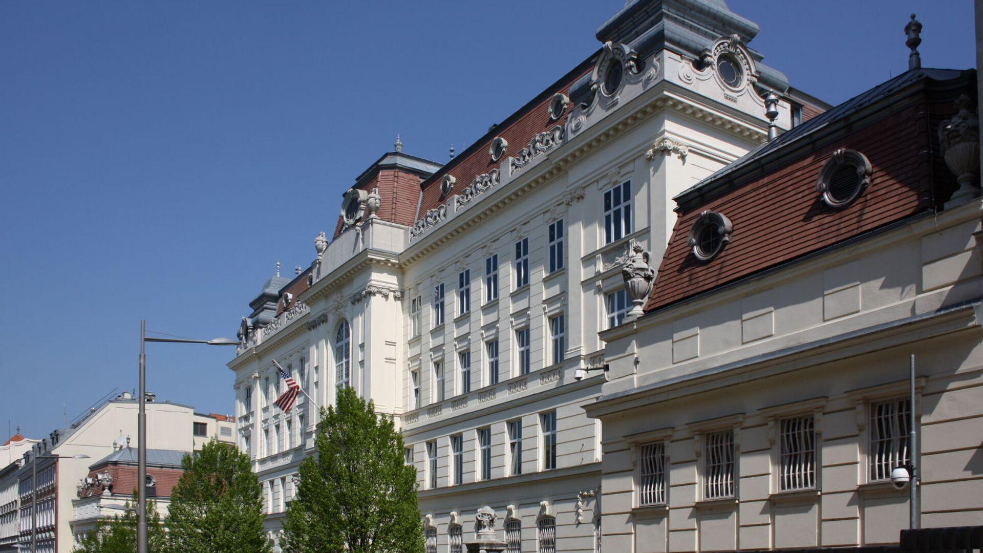 Budova amerického velvyslanectví ve Vídni, Rakousko - Sputnik Česká republika, 1920, 17.07.2021
