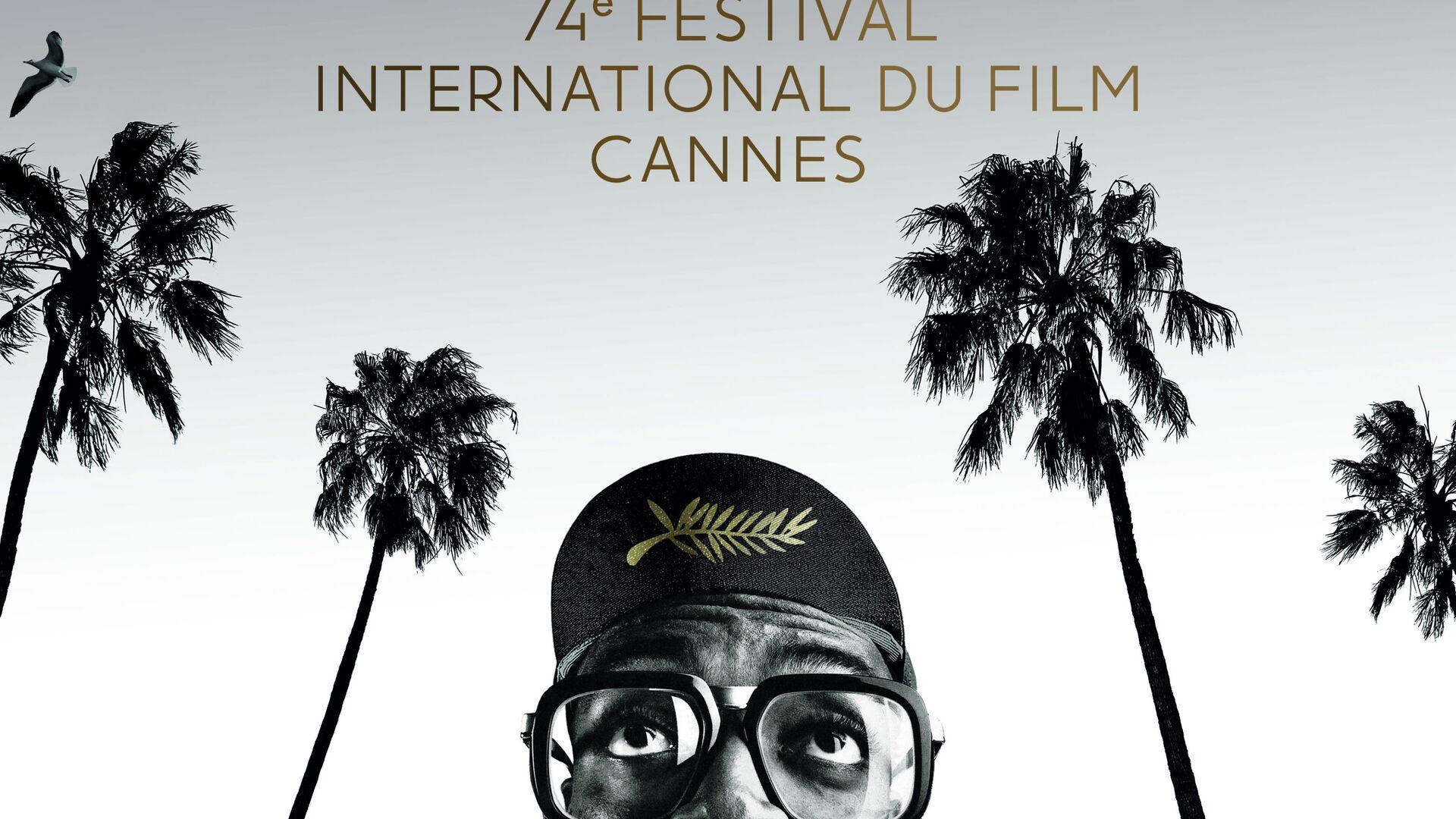 Plakát k 74. ročníku Filmového festivalu v Cannes - Sputnik Česká republika, 1920, 17.07.2021