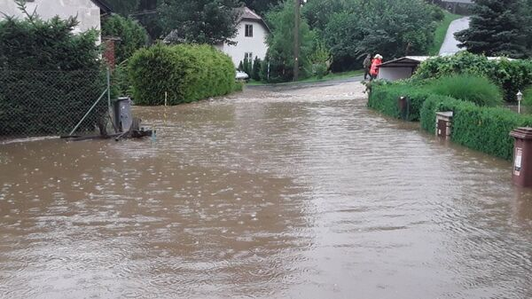 Povodně c Česku - Sputnik Česká republika