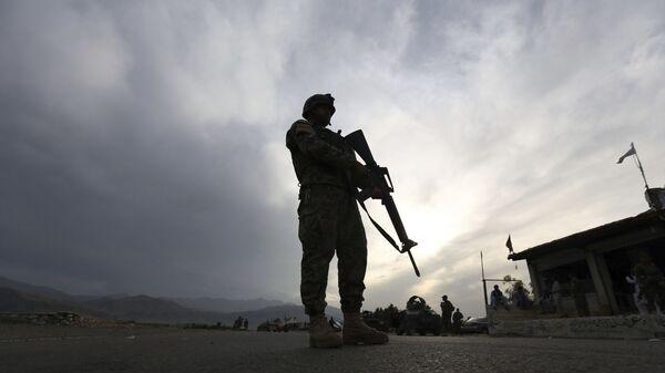Voják afghánské národní armády - Sputnik Česká republika