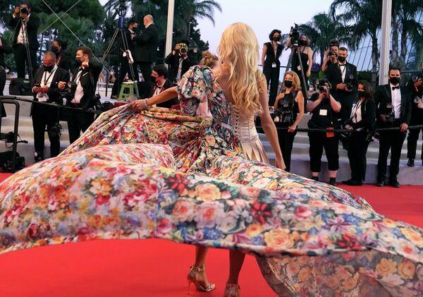 Angelina Kali na filmovém festivalu v Cannes. - Sputnik Česká republika