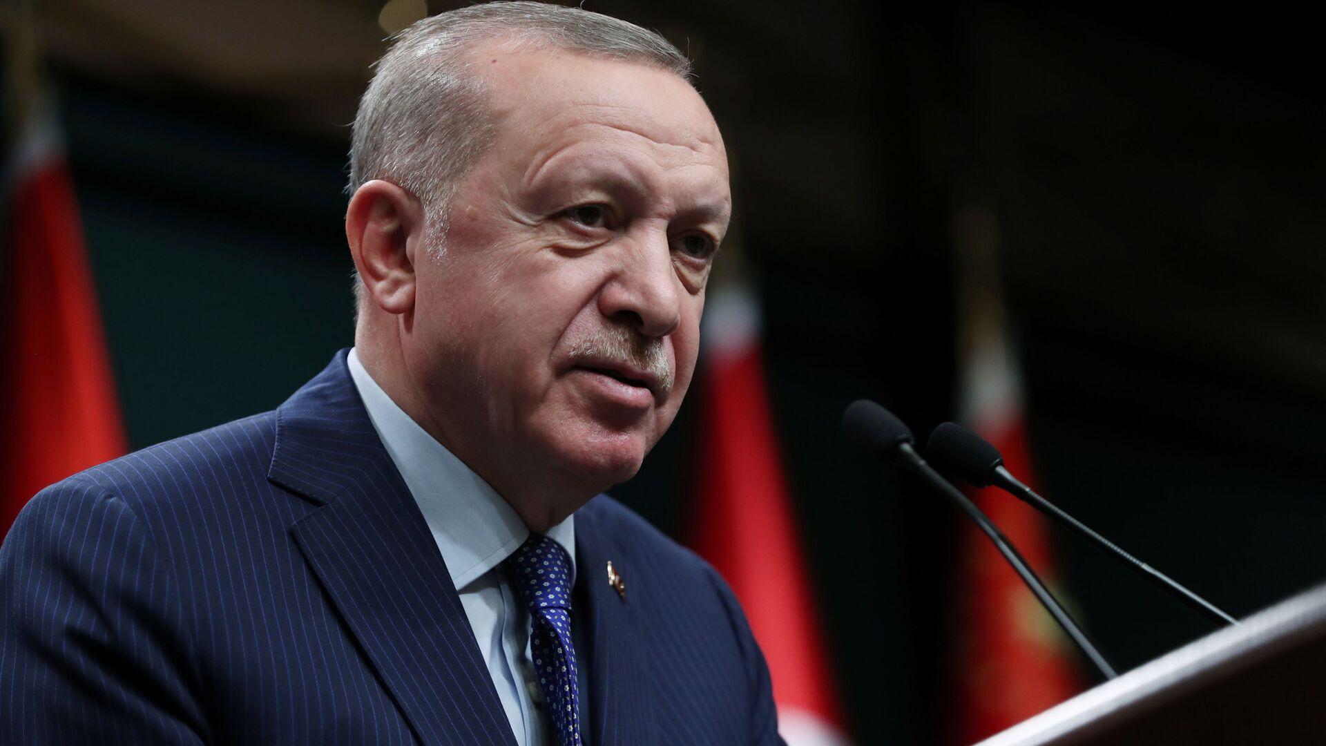Turecký prezident Recep Tayyip Erdogan - Sputnik Česká republika, 1920, 20.07.2021