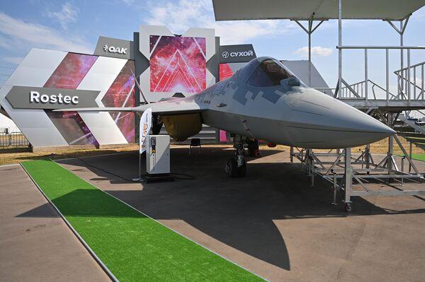 Mezinárodní letecká a kosmická výstava MAKS 2021. - Sputnik Česká republika