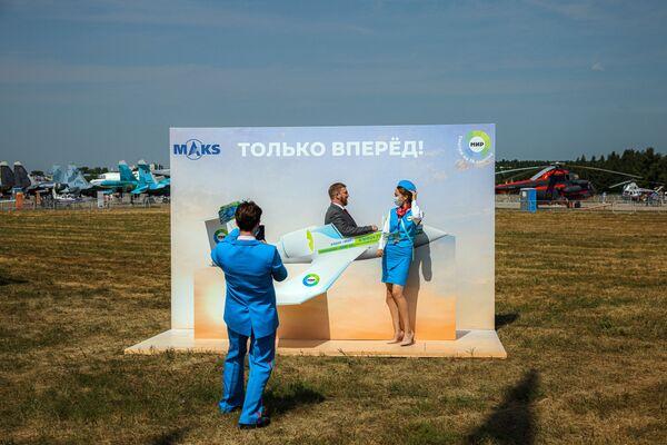 Zahajovací den Mezinárodní výstavy MAKS 2021. - Sputnik Česká republika