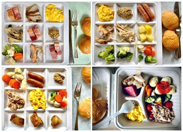 Завтраки в токийском отеле Washington - Sputnik Česká republika