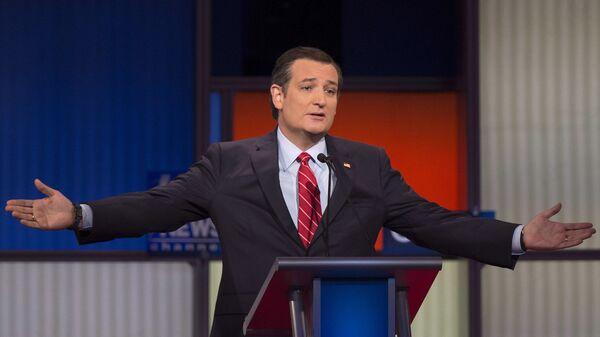 Кандидат в президенты США от республиканской партии Тед Круз - Sputnik Česká republika