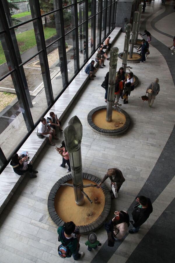 Гейзерная колоннада в Карловых Варах, Чехия - Sputnik Česká republika