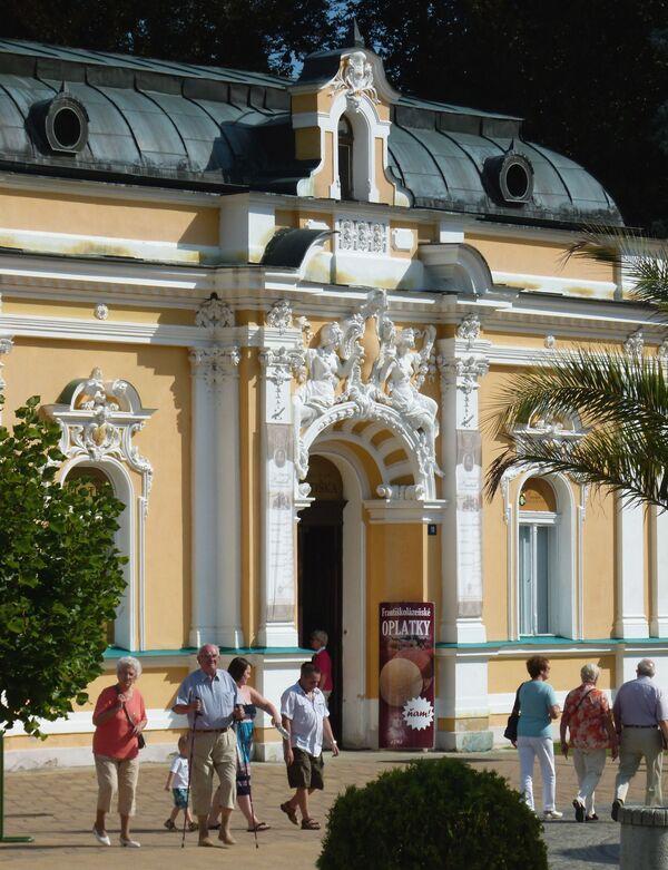 Курортная поликлиника в городе Франтишковы Лазне в Чешской Республике - Sputnik Česká republika