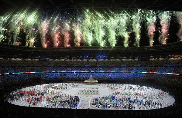 Zahájení letních olympijských her v Tokiu. - Sputnik Česká republika