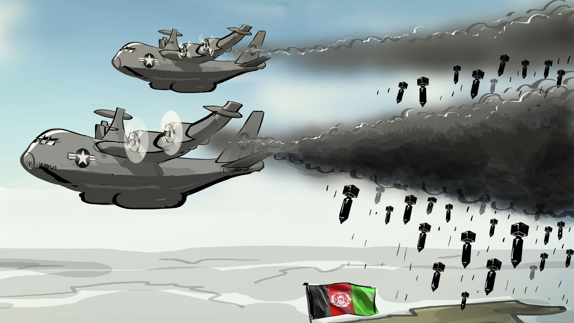 USA budou provádět letecké útoky na podporu afghánské vlády - Sputnik Česká republika, 1920, 26.07.2021