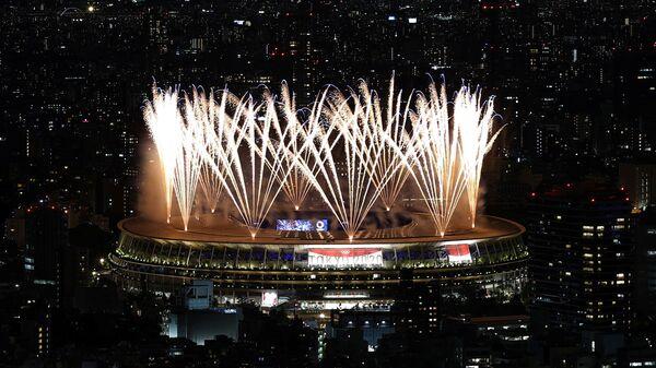 Церемония открытия Олимпийских игр в Токио, Япония  - Sputnik Česká republika