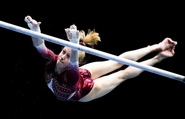 Ruská sportovní gymnastka Viktorija Listunovová (16). - Sputnik Česká republika