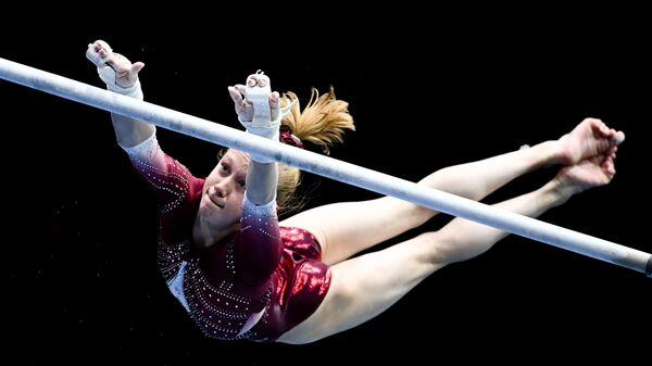 Российская гимнастка Виктория Листунова - Sputnik Česká republika