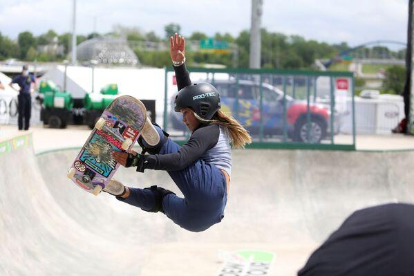 Britská skateboardistka japonského původu Sky Brownová (13). - Sputnik Česká republika