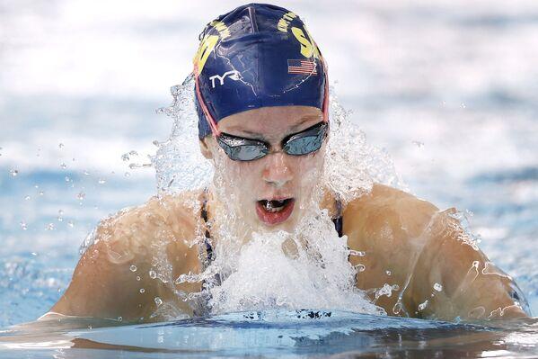 Americká plavkyně Katie Grimesová (15). - Sputnik Česká republika