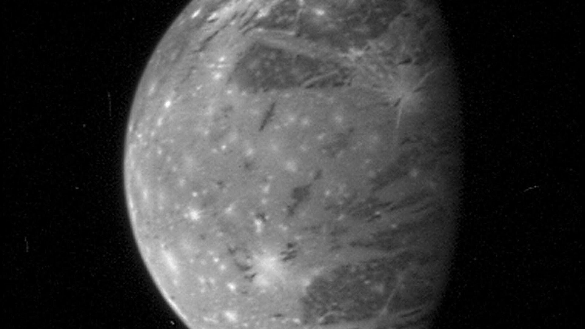 Jupiterův měsíc Ganymed - Sputnik Česká republika, 1920, 28.07.2021