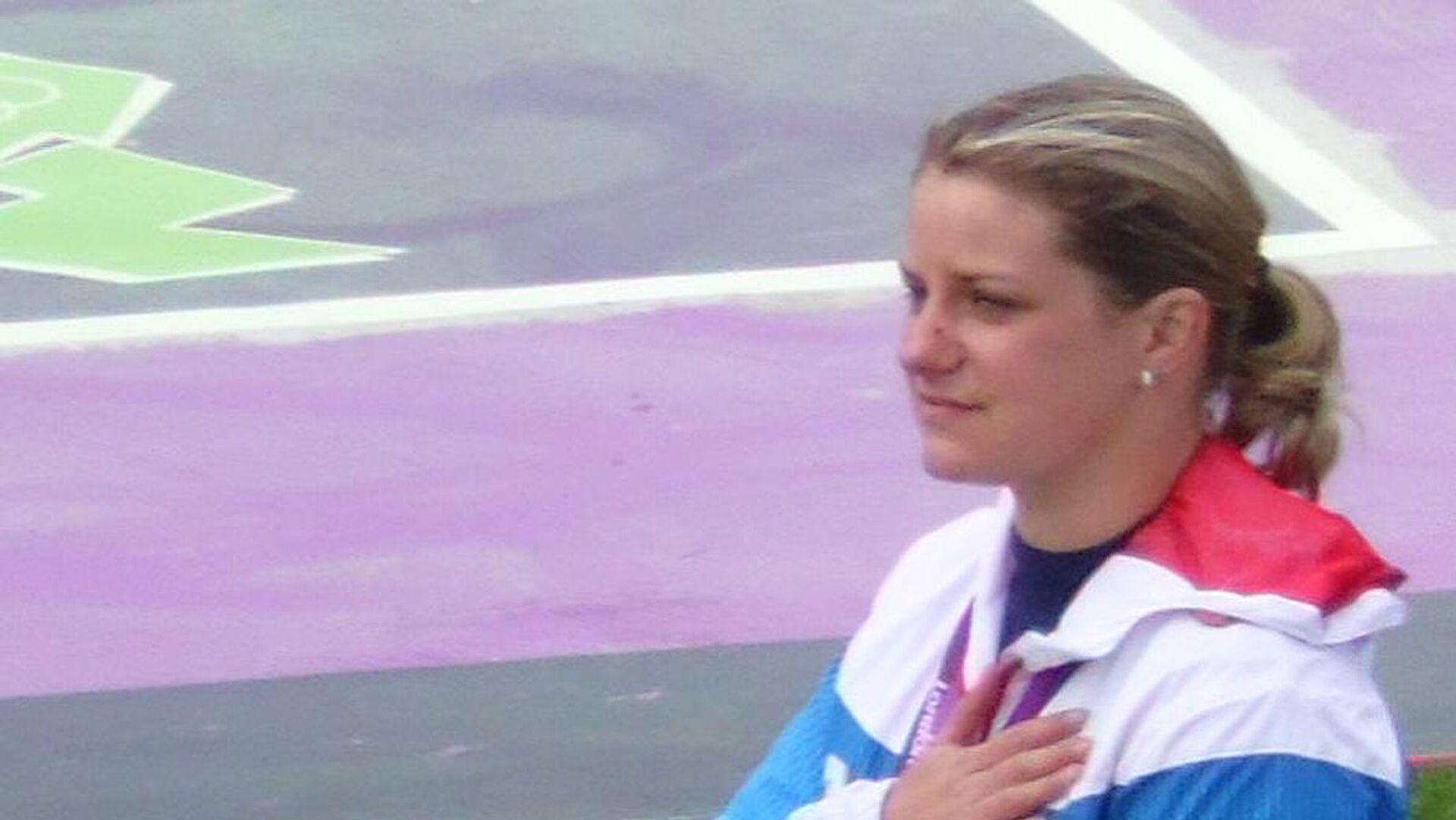 Zuzana Rehák Štefečeková se stříbrnou medailí z Londýna - Sputnik Česká republika, 1920, 29.07.2021