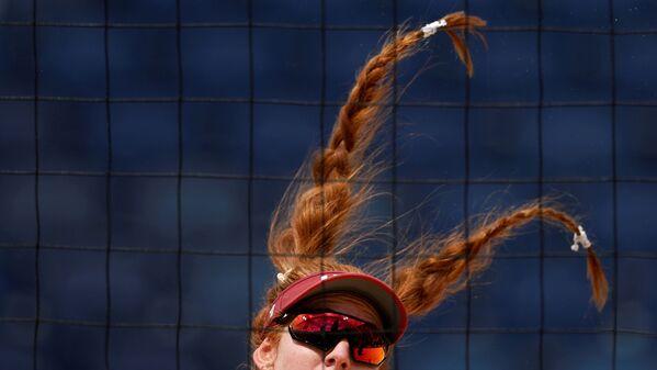 Kelly Claesová z USA na olympijských hrách v Tokiu 2020 - Sputnik Česká republika