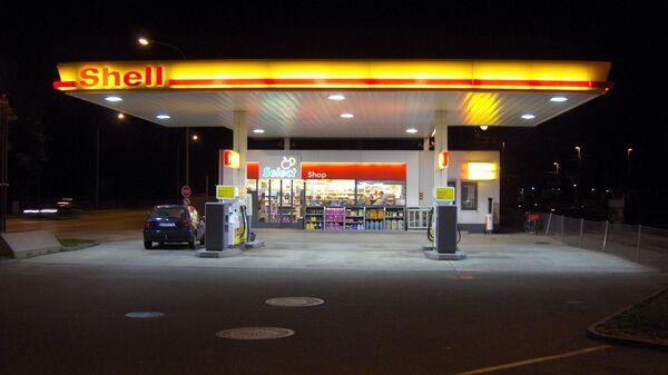 Газовая заправка Shell - Sputnik Česká republika