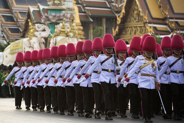 Thajská královská garda - Sputnik Česká republika