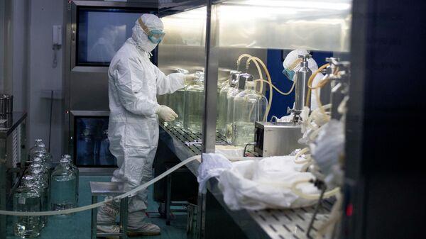 Čínská laboratoř - Sputnik Česká republika