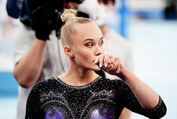 Ruská gymnastka Angelina Melnikova na Olympijských hrách v Tokiu - Sputnik Česká republika