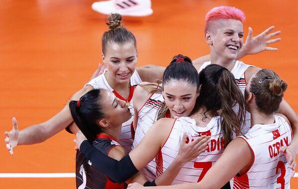 Turecká volejbalistka Zehra Gunes na XXXII. letních olympijských hrách v Tokiu - Sputnik Česká republika