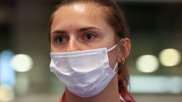 Белорусская легкоатлетка Кристина Тимановская  - Sputnik Česká republika
