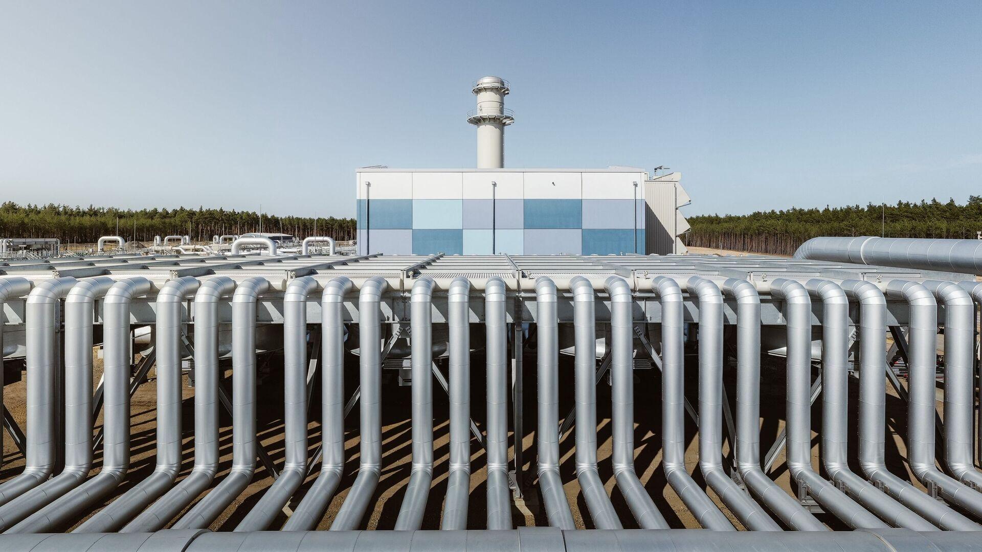 Stavba plynovodu Nord Stream 2 v Německu. Ilustrační foto - Sputnik Česká republika, 1920, 24.08.2021