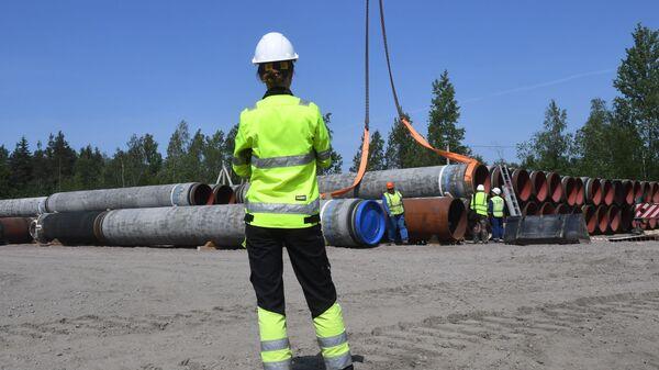 Stavba plynovodu Nord Stream - Sputnik Česká republika