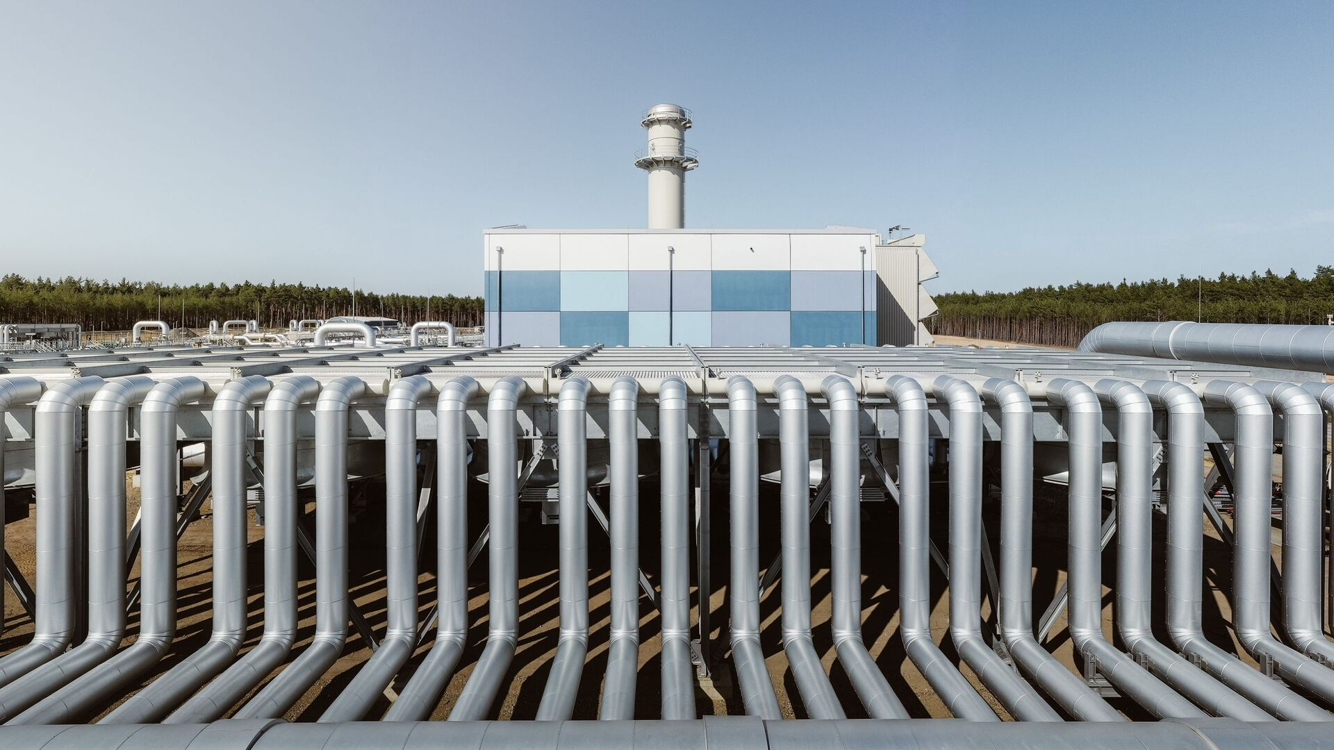 Výstavba plynovodu Nord Stream 2 v Německu - Sputnik Česká republika, 1920, 04.08.2021